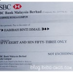 My first Nuffnang Cheque…yeay!!