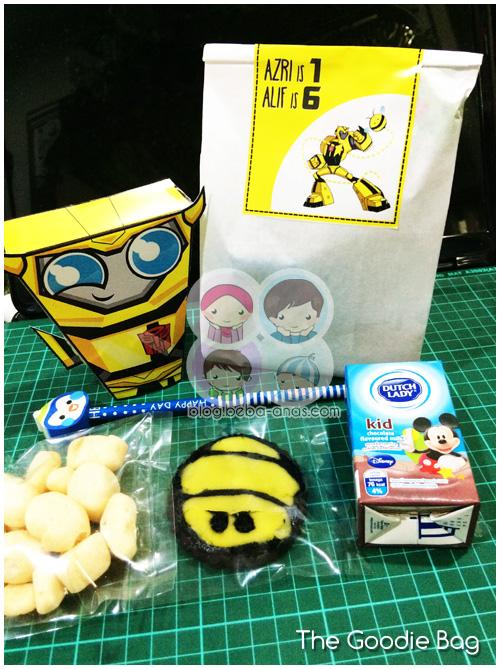 bumbleebee theme goodie bag