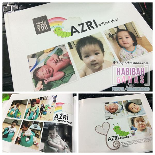 baby's first year photobook
